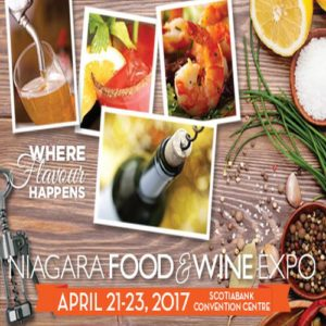 Win Tickets to the Niagara Food & Wine Expo